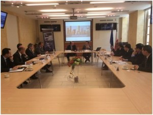 Business and MEP candidates discuss financial sector