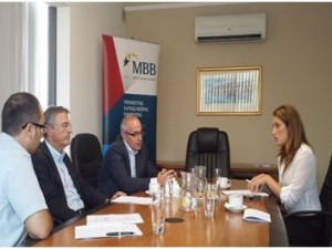 MEP Roberta Metsola visits Malta Business Bureau