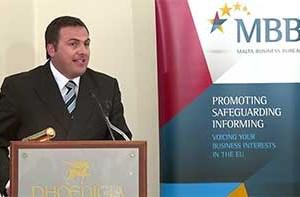 Speech by MBB President George Vella