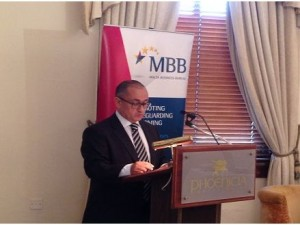 Speech by Malta Chamber Deputy President Mr. Anton Borg
