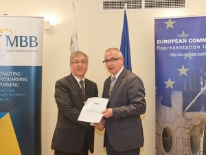 MBB presents Report to European Commissioner Karmenu Vella on potential €1.4 billion in energy and water savings
