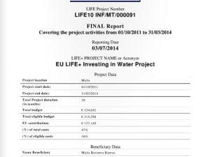 EU Life+ – July 2014
