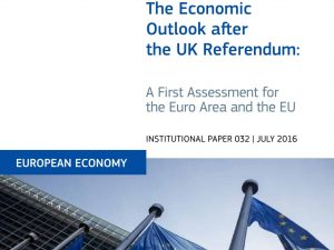 An Economic Outlook After the UK Referendum: A First Assessment for the Euro Area and the EU