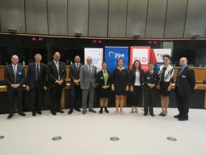 MBB Water Conservation Efforts Lauded in Brussels