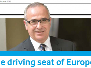 In the driving seat of Europe