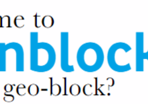 Time to unblock the geo-block?