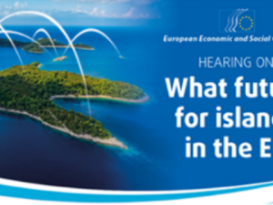 Hearing on 'What future for islands in the European Union': 7th February