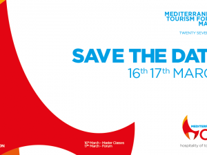 Mediterranean Tourism Forum: 16th – 17th March