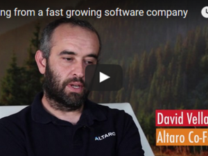 Learning from a fast growing software company