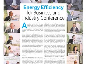 Energy Efficiency for Business and Industry Conference