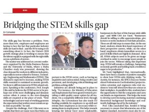 Bridging the STEM Skills Gap