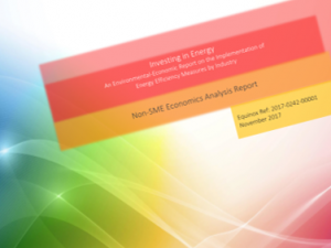 Environmental-Economic Report on Energy Efficiency in Malta's Industry – March 2018