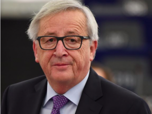It's up to London to solve Ireland Brexit conundrum, Juncker says