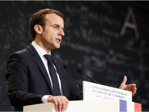 Macron eyes AI at European level