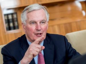 Brussels will insist on ECJ in Brexit treaty, says Barnier