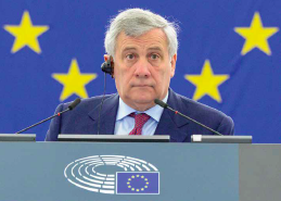"EP President Tajani: ""A Forward-Looking Political Europe Needs a Clear Vision"""