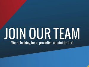JOB OPPORTUNITY: Administrator