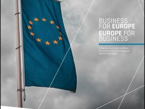 BUSINESS FOR EUROPE – EUROPE FOR BUSINESS