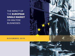The Impact of the European Single Market on Maltese Businesses – November 2019