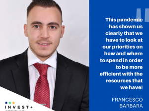 INVEST+ Mentors: MEET FRANCESCO BARBARA