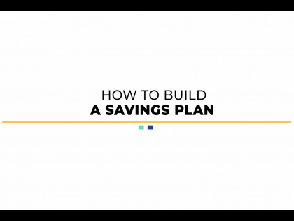 How to build a Savings Plan? | Financial Literacy Web-Series