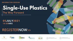 Banner for Webinar on Single Use Plastics