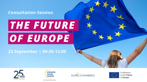 Consultation Session on the Future of Europe Banner