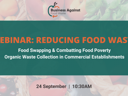 Reducing Food Waste   Webinar Recording